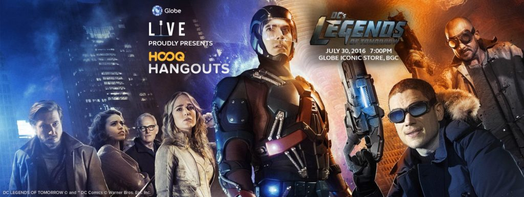 HOOQ Hangouts - debuts with DC's Legends of Tomorrow