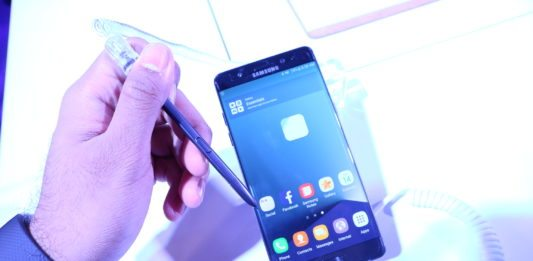 Samsung Galaxy Note7 with S Pen
