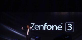 Zenfone 3 held by Jerry Shen