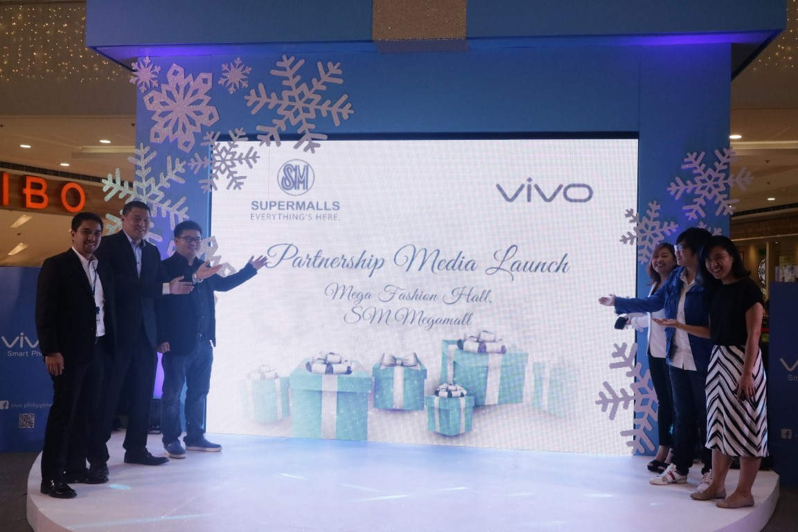 Vivo x SM Supermalls for Christmas season 2016