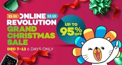 Lazada PH Grand Christmas Sale 2016