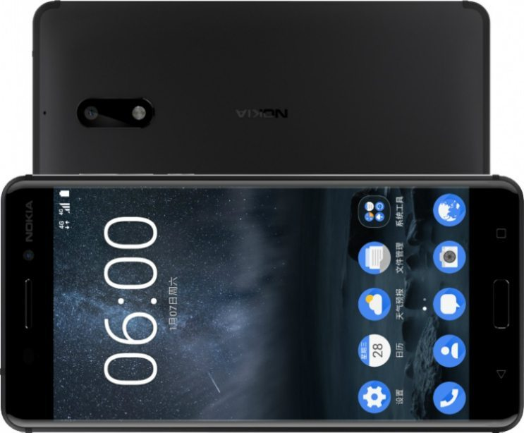 Nokia 6 Front-Back