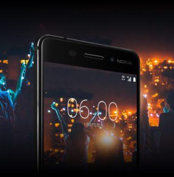 Nokia 6 Front Promo