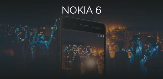 Nokia 6 in Lazada starting January 26, 2017