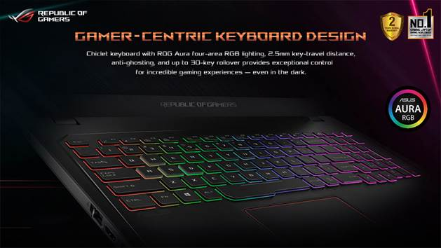 ROG Strix GL553 & GL753 Keyboard
