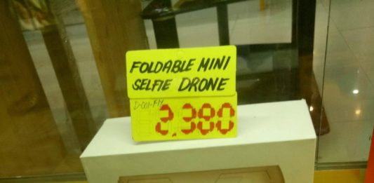 CD-R King Foldable Mini Selfie Drone