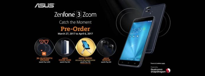 ASUS ZenFone 3 Zoom Pre-order Freebies
