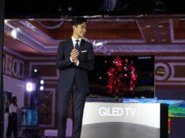 Kim Soo Hyun at Samsung QLED TV Philippine Launch
