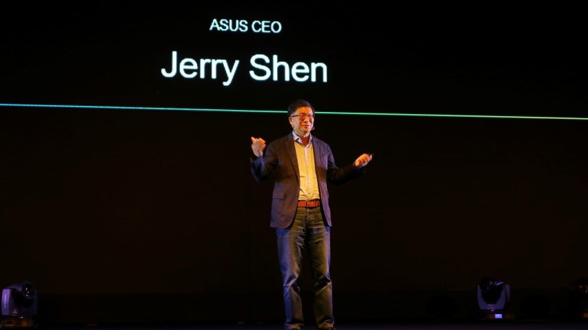 Jerry Shen, ASUS CEO