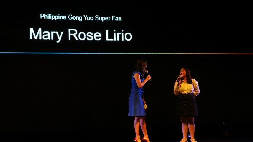 Mary Rose Lirio, Philippine Gong Yoo Super Fan