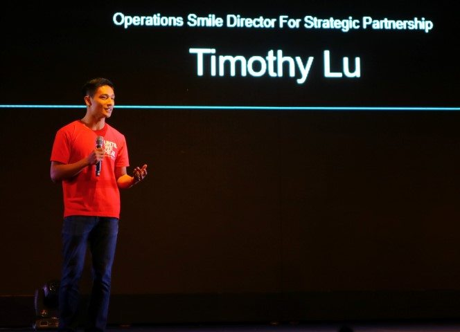 Timothy Lu, Operation Smile Director for Strategic Partnerships