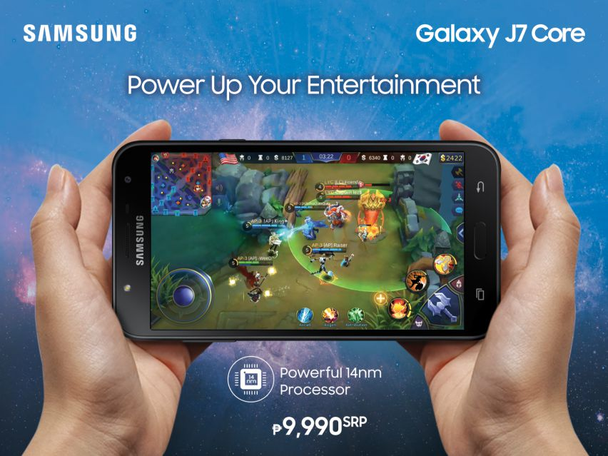 Samsung Galaxy J7 Core - Power Up Your Entertainment