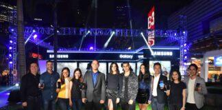 Samsung Team with Brand Ambassadors