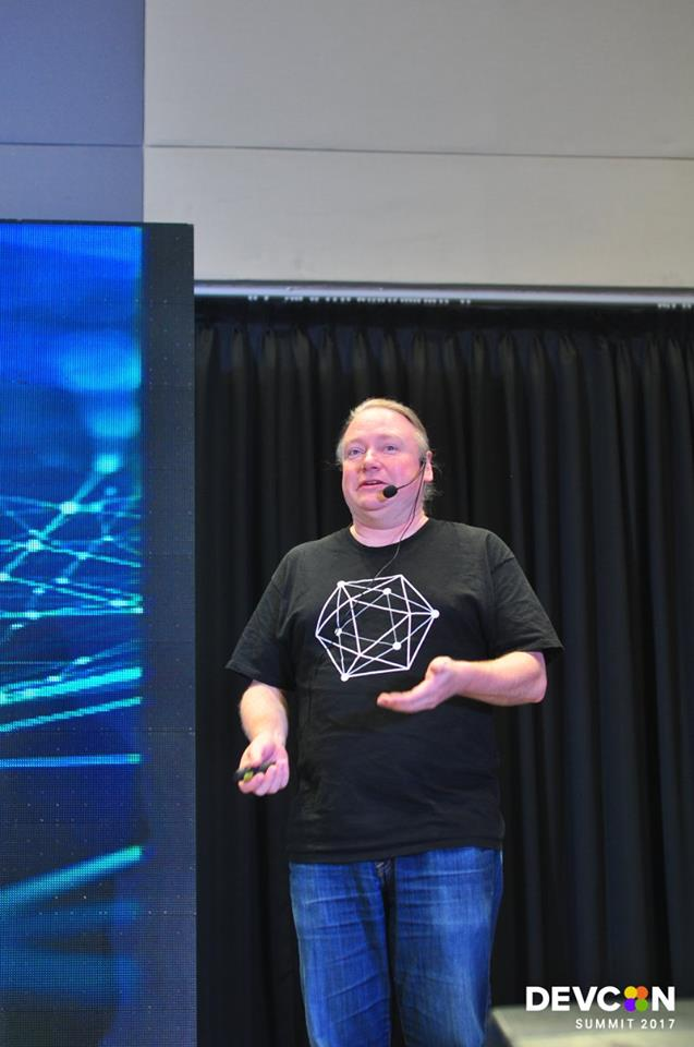 Executive Director of Hyperledger, Brian Behlendorf at DEVCON Summit 2017