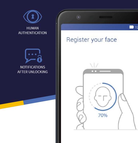 ASUS Zenfone Max Plus Face Unlock