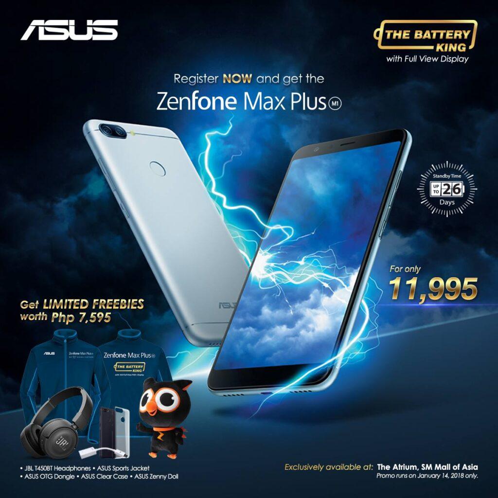 ASUS Zenfone Max Plus and Bundles
