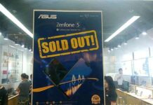 SM North Zenfone Concept Store - Zenfone 5 Soldout April 14