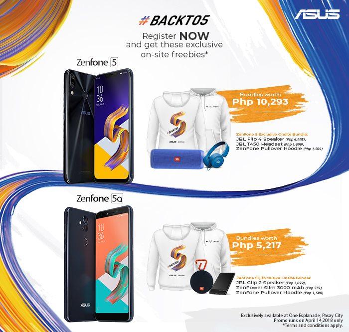 ASUS ZenFone 5 Onsite Bundles