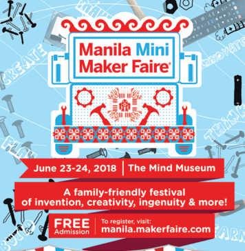 Manila Mini Maker Faire (MMMF) 2018