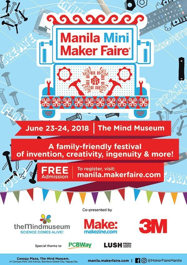 Manila Mini Maker Faire (MMMF) 2018