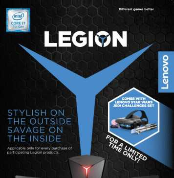 Lenovo Legion - Star Wars Jedi Challenges bundle