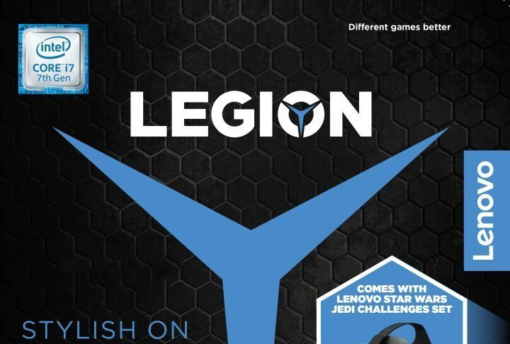 Lenovo Legion - Star Wars Jedi Challenges bundle