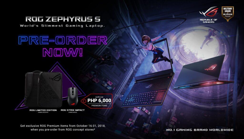 ROG Zephyrus S GX531 Pre-Order