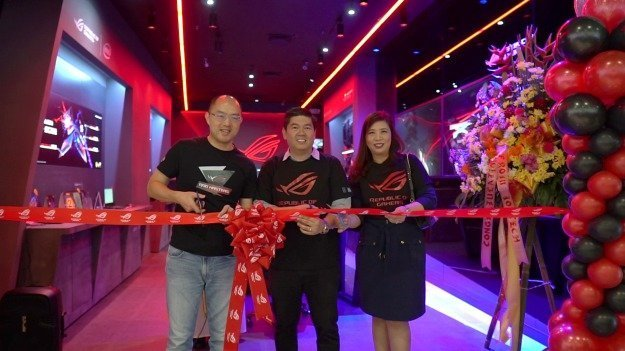 Ribbon Cutting ASUS ROG Concept Store at SM Mall of Asia