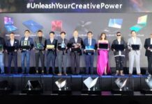 ASUS Executives and guests from the Technology industry with personalities who use ZenBooks and VivoBooks