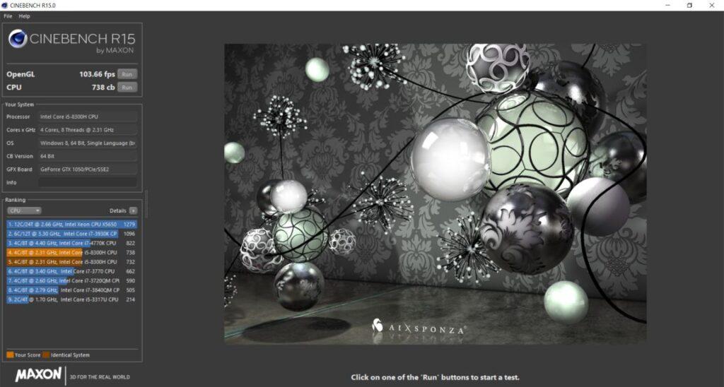ASUS FX504 Speccy