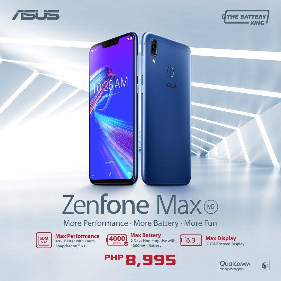 ZenFone Max M2 Result