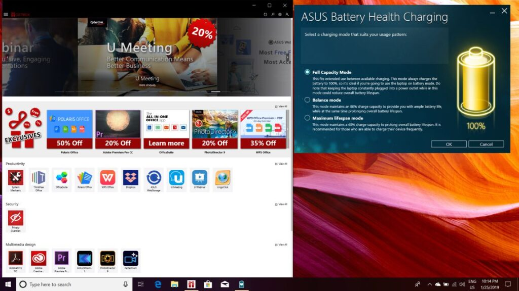 ASUS FX504 Software and Apps