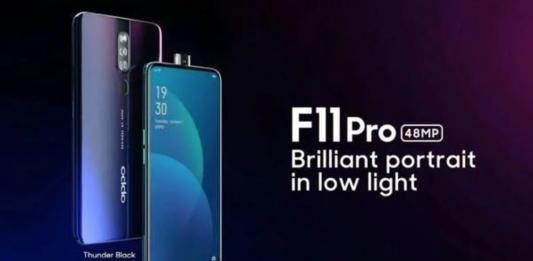 OPPO F11 Pro Gradient Colors