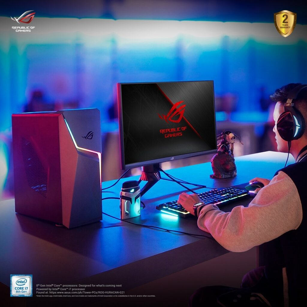 ROG Strix GL10 – always game