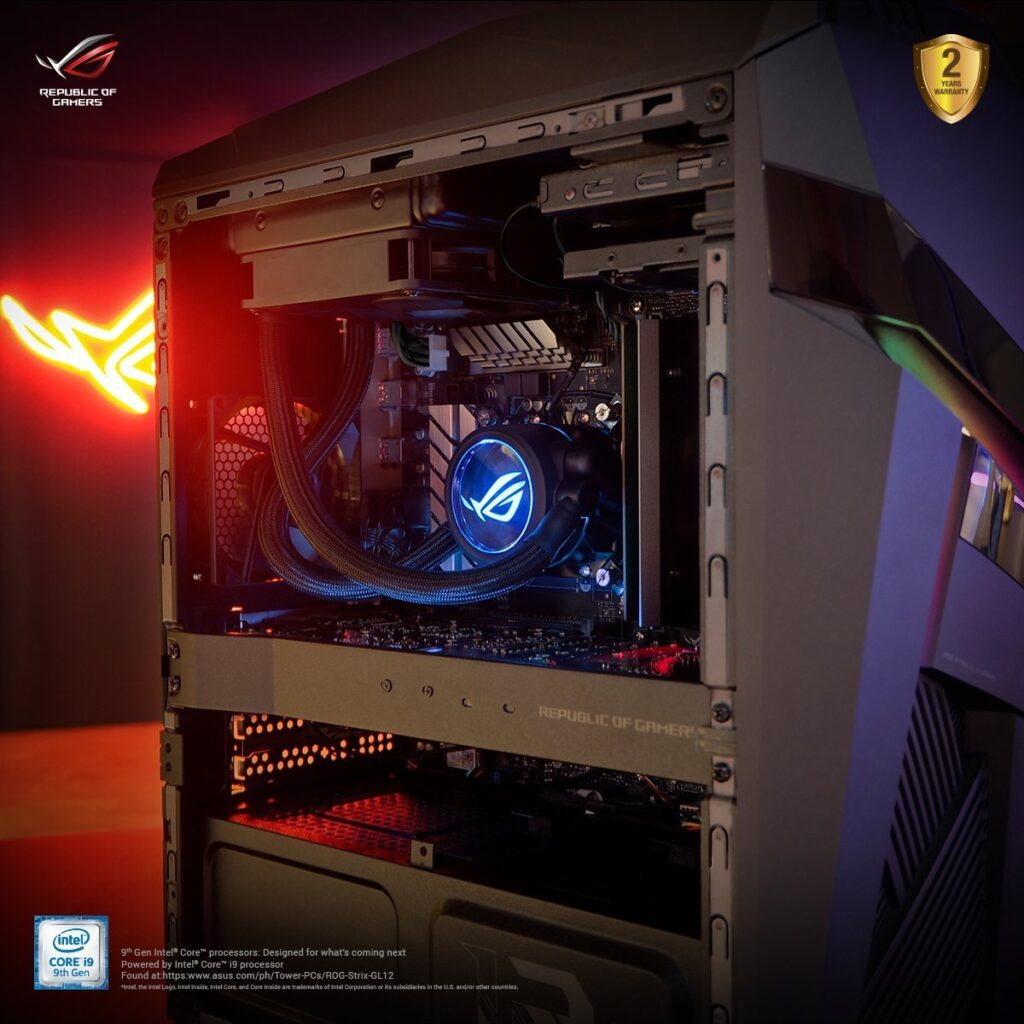 ROG Strix GL12 – rebirth of a gaming beast