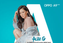 OPPO A Series endorser Alex Gonzaga