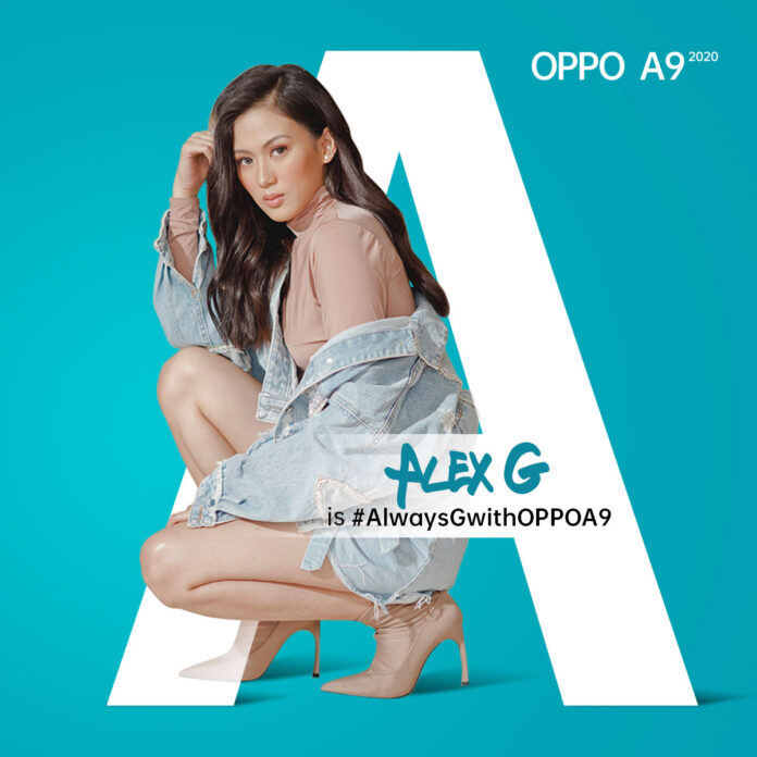 OPPO A Series endorser Alex Gonzaga