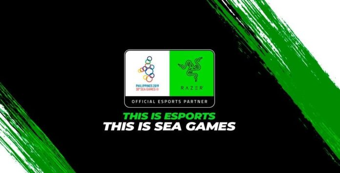 Razer official partner at Southeast Asian Games 2019 for ESPORTS