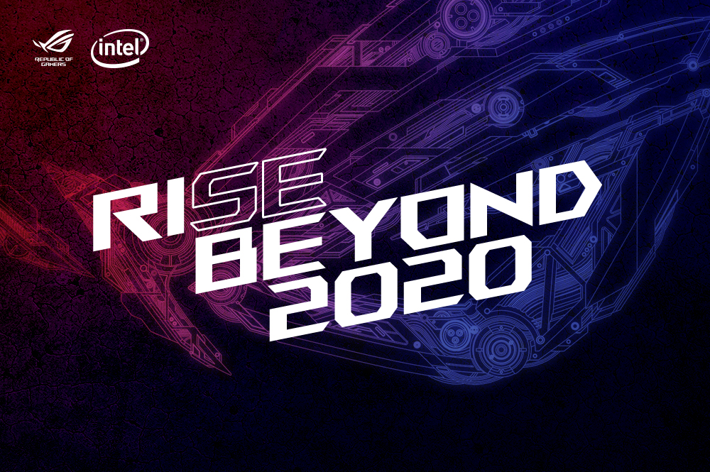 ASUS RISE Beyond 2020 CoverPage