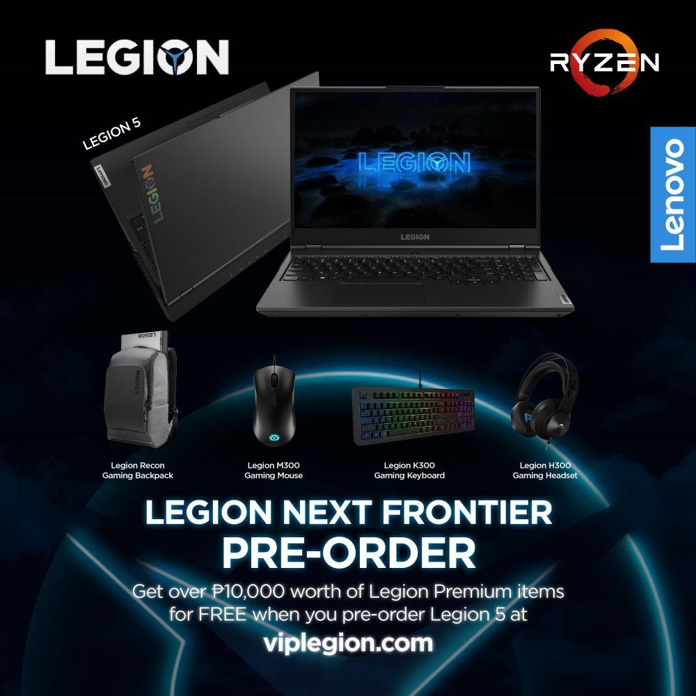 Legion 5 Pre-Order