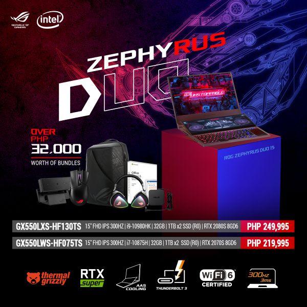 ASUS Zephyrus Duo 15