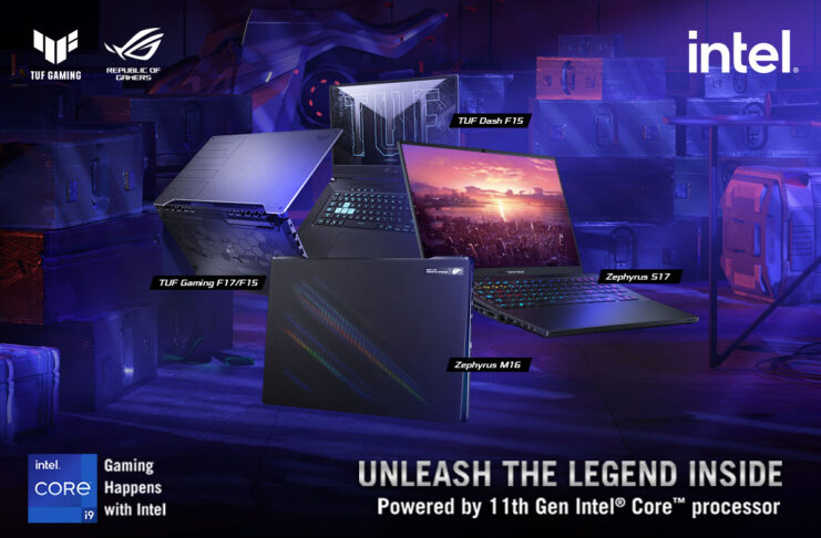 ROG PHILIPPINES OFFICIALLY ANNOUNCES THE NEW ZEPHYRUS AND TUF GAMING LINES POWERED BY LATEST INTEL® 11th GEN CPUs